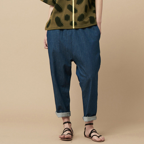 BAGGY PANTS-blue