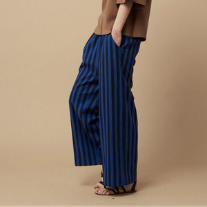 STRIPE PANTS-blue