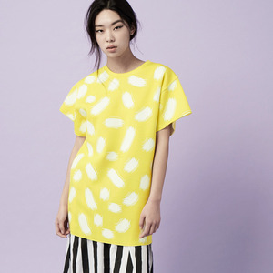 TOUCH PRINT LONG TOP