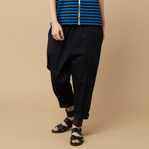BAGGY PANTS-navy