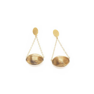 [삿치] SWING DISCO BALL EARRINGS